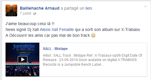 Chicago Zone support l'album Xall